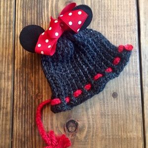 Other - Minnie Mouse Handmade Hat